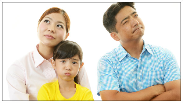 Parents happy with joint legal custody with unhappy kid in the middle