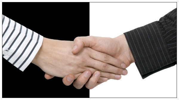 weak handshake after uncontested divorce